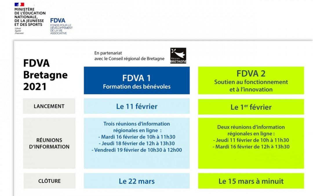 FDVA 2021 : soutien au développement de la vie associative