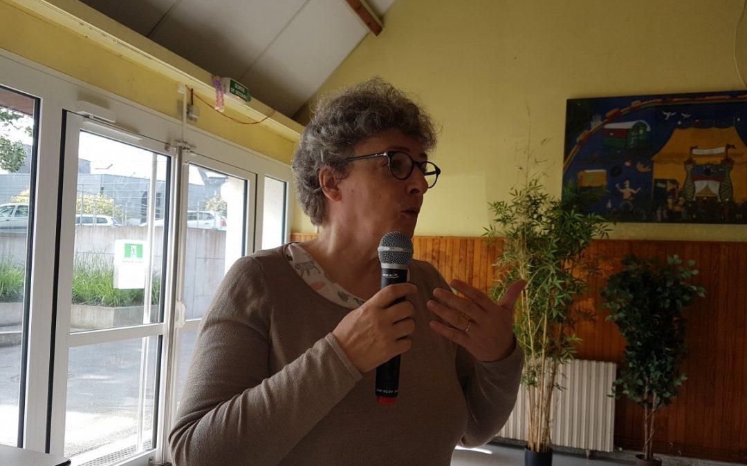 Christine Jurdan au GRV à St Brieuc