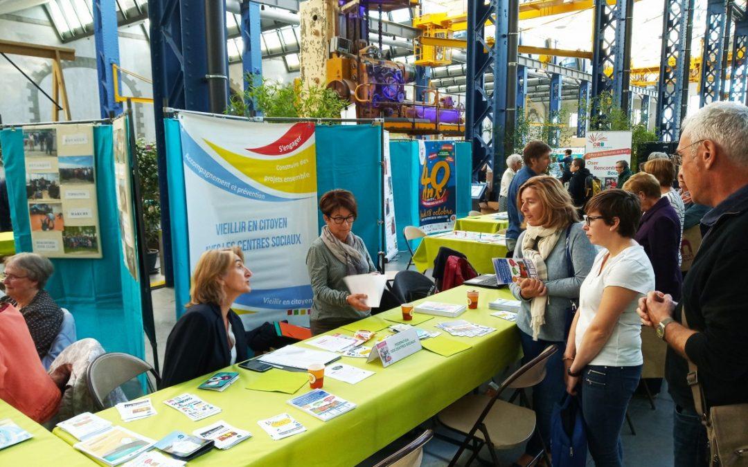 """La FCSB était présente au """"Forum Bien Vieillir dans nos communes"""" à Brest."""