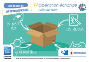 CSC L'Agora Guilers_Opération échange boîte de Noël