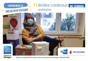 Centre socioculturel LA BALISE Concarneau_Boîtes cadeaux solidaires