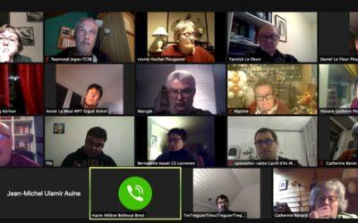 Finistère : 18 président-e-s se retrouvent en visio pour échanger sur la situation actuelle