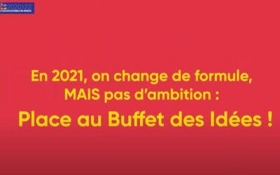 Au revoir Banquet des Idées, bienvenue au Buffet des idées !