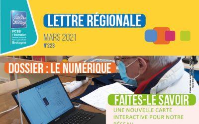 Lettre régionale : dossier sur le numérique